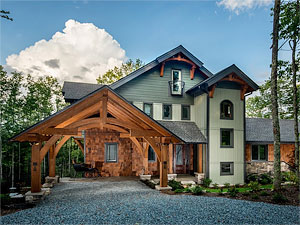 Boone NC Custom Home Builders Green Certified Builders